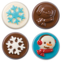 Wilton Snowflake Wishes Cookie Candy Mold