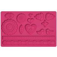 Wilton Folk Fondant & Gum Paste Mold