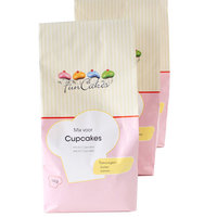 FunCakes Mix voor Cupcakes 1kg.