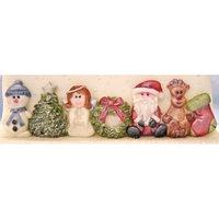 KD Siliconen mould - Christmas Border