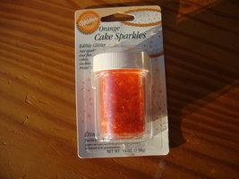 Wilton Cake sparkles Orange