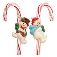 Wilton Candy Cane mold Snowman