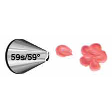 Wilton Decorating Tip #59S/59D Petal