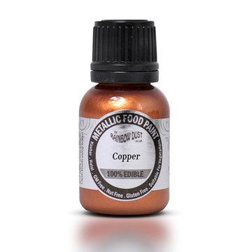 RD Metallic Food Paint metallic copper 20ml