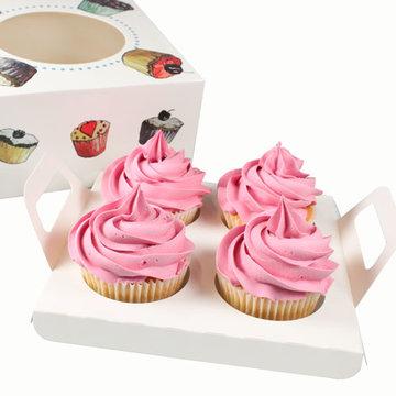 Insert voor Cupcake doosje 4 - 17x17x8 cm
