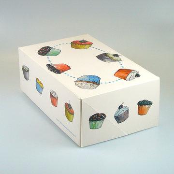 FunCakes Cupcake doosje 6 zonder venster 24x16x8cm