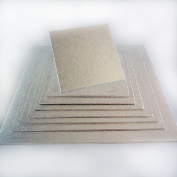 Cakeboards 4 mm Vierkant 20 CM