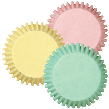 Wilton Baking cups Pastel Assorted pk/75