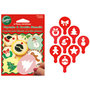 Wilton Cupcake & Cookie Stencils Christmas